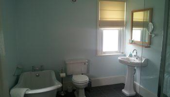 hawkins blue bathroom