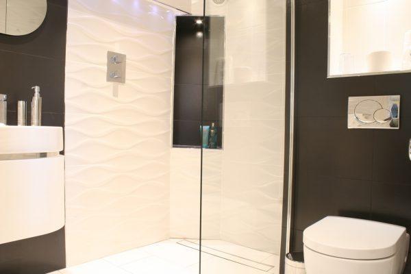 bath view wet room