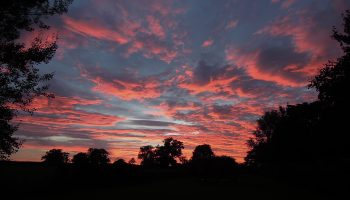fosse farmhouse sunset 2