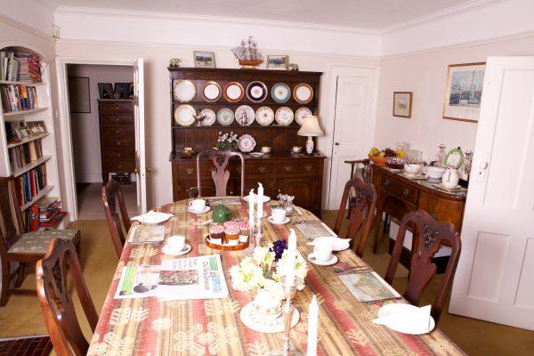 weston lawn dining room