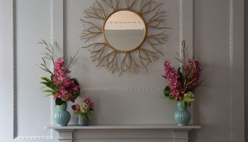 Drawing room mirror