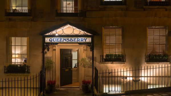 Queensberry Front door