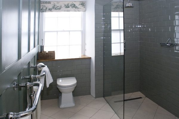 bath town house second floor wet room