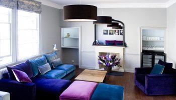 bath town house lounge blue