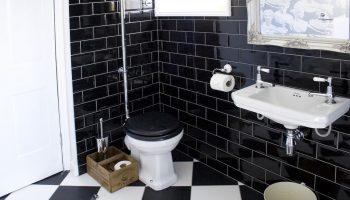 bath town house black wet room