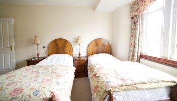 waltons guesthouse floral twin