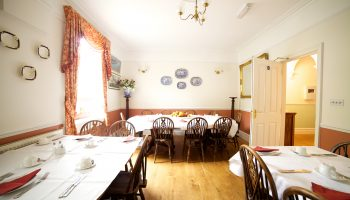 waltons guest house dining