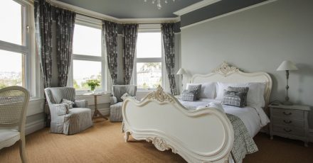 grays luxury stripe grey room