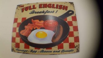 white guest house full english