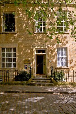 three abbey green front door