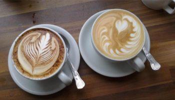 coffee art cafe au lait