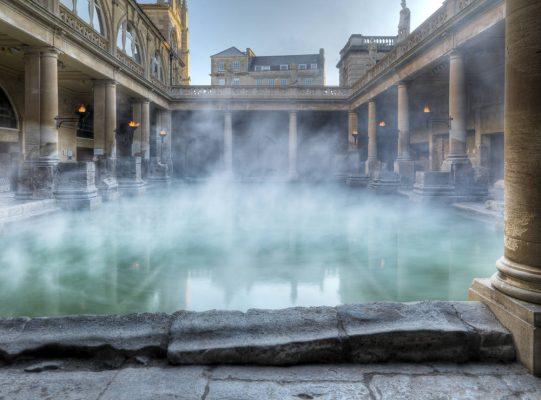 roman baths steam