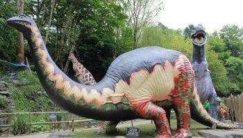 wookey hole dinosaurs