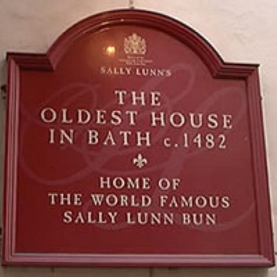 sally lunns plaque
