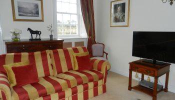 the circus stripe sofa