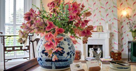tyndall villa flowers