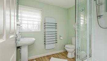 tucking mill green bathroom