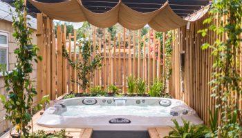 the bird hot tub