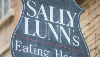 sally lunns history sign