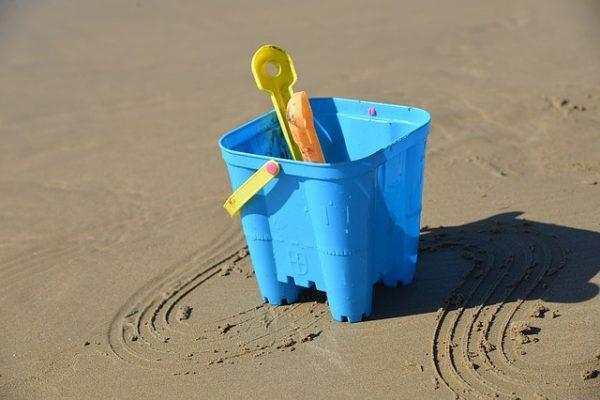 Bath on the beach