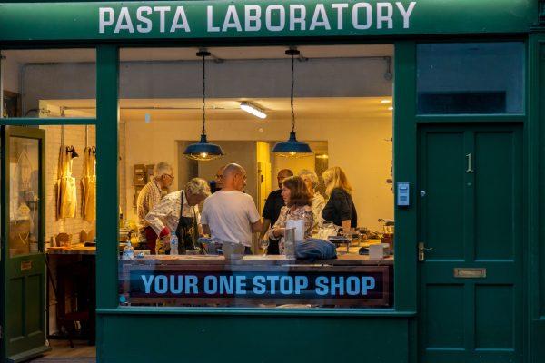 Pasta making class at Pasta Uliana
