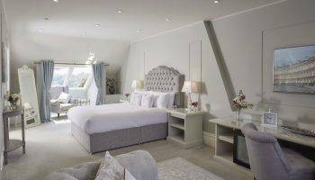 Bedroom at Bathen House